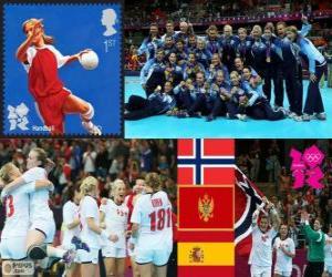 Damen Handball London 2012 puzzle