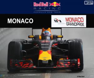 Daniel Ricciardo, 2016 Grand Prix von Monaco puzzle