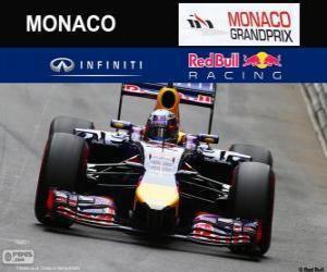 Daniel Ricciardo G. P von Monaco 2014 puzzle