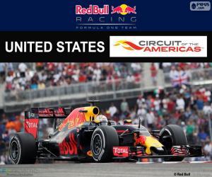 Daniel Ricciardo, Großer Preis der USA 2016 puzzle