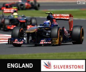 Daniel Ricciardo - Toro-Rosso - Silverstone, 2013 puzzle