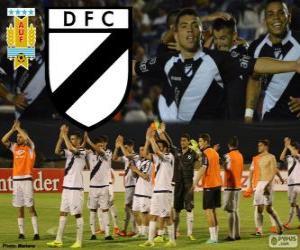 Danubio FC, Meister erste Liga des Fußballs in Uruguay 2013-2014 puzzle