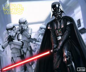 Darth Vader, Star Wars puzzle