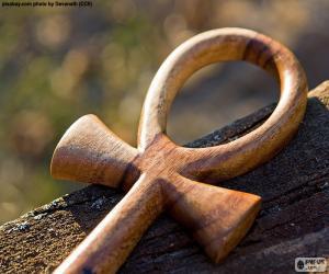 Das ägyptische Ankh Kreuz puzzle
