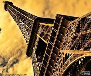 Das Eiffelturm, Paris puzzle