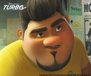 Das Gesicht von Angelo Dos Bros puzzle
