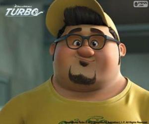 Das Gesicht von Tito Dos Bros puzzle