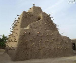 Das Grabmal von Askia liegt in Gao, Mali puzzle