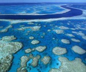 Das Great Barrier Reef, Korallenriffe in der ganzen Welt größte. Australien. puzzle