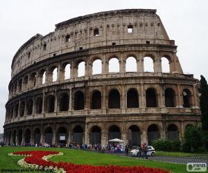 Das Kolosseum, Rom puzzle