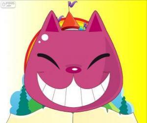 Das Lächeln der die Cheshire-Katze puzzle