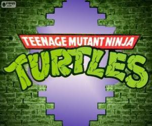Das Logo der Ninja Turtles puzzle
