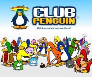 Das lustige Pinguine Club Penguin puzzle