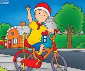 Das neue fahrrad des Callou puzzle