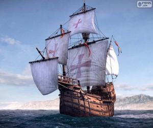 Das Schiff Santa Maria puzzle