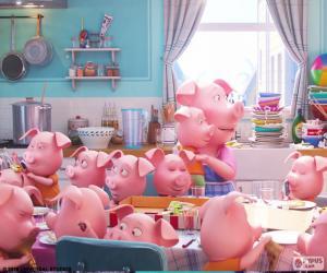 Das Schwein Rosita puzzle