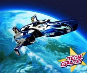 Das Team Galaxy Sonde ist die Hornet puzzle