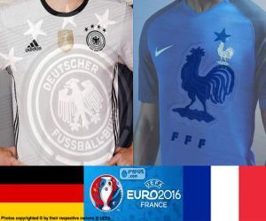 DE-FR, Halbfinale Euro 2016 puzzle