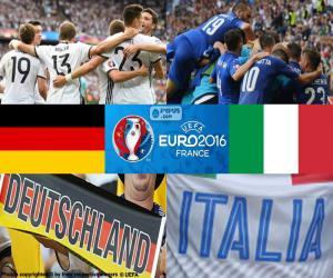 DE-IT, Viertelfinale Euro 2016 puzzle