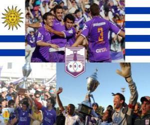 Defensor Sporting Club Champion der Torneo Apertura 2010 (URUGUAY) puzzle
