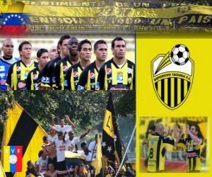 Deportivo Táchira Fútbol Club Champion Torneo Apertura 2010 (VENEZUELA) puzzle