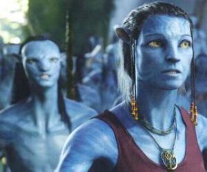 Der Avatar na'vi von Dr. Grace Augustin puzzle