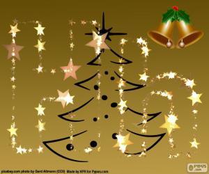 Der Buchstabe H, Weihnachten puzzle