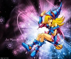 Der dunkle Magier Mädchen ist eine andere Form, dass gegen Kaiba Pegasus verwendet puzzle