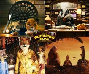 Der fantastische Mr. Fox puzzle