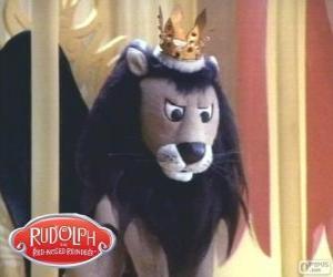 Der fliegende Löwe, König Moonracer puzzle
