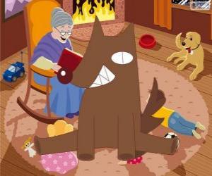 Der große böse Wolf puzzle