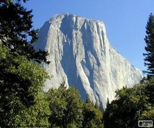 Der Half Dome, Yosemite, USA puzzle