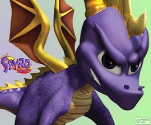 Der junge Drache Spyro, Hauptdarstellerin von Spyro the Dragon Games puzzle