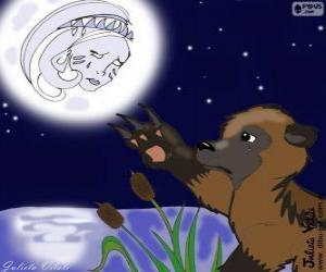 Der Mond und der Bär puzzle