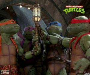Der Mutant Ninja Turtles, Kanalisation puzzle