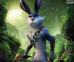 Der Osterhase, Kaninchen Ostern. Figur aus Die Hüter des Lichts puzzle