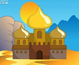 Der Palast von Aladdin und die Prinzessin puzzle