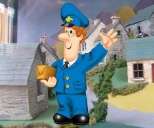 Der Postbote Pat Clifton lebt in Greendale mit seiner Frau Sarah und seinem Sohn Julian puzzle