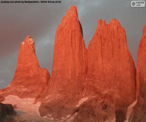 Der Torres del Paine, Chile puzzle