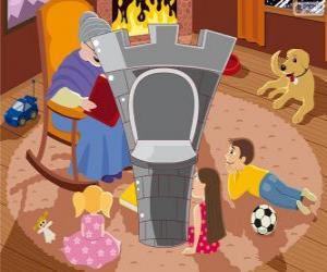 Der Turm der Burg puzzle