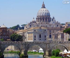 Der Vatikan, Rom, Italien puzzle