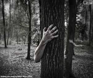 Der Wald des Schreckens puzzle