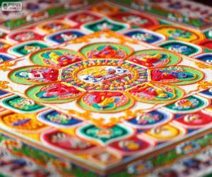 Detail Mandalas puzzle