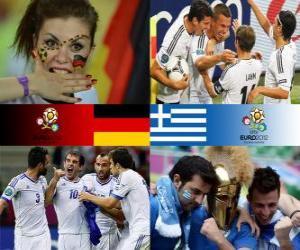 Deutschland - Griechenland, Viertelfinale, Euro 2012 puzzle