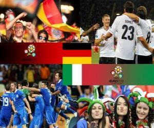 Deutschland - Italien, Halve Finale Euro 2012 puzzle