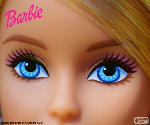 Die Augen von Barbie puzzle