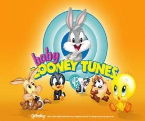 Die Baby Looney Tunes puzzle