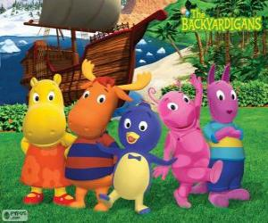 Die Backyardigans puzzle