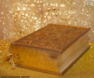 Die Bibel der christlichen religion puzzle