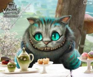 Die Cheshire-Katze puzzle